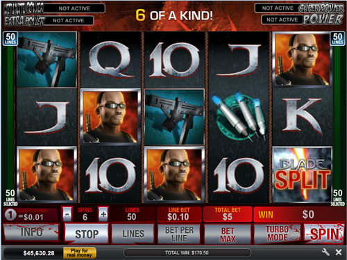 Split Symbols Online Video Slots Feature