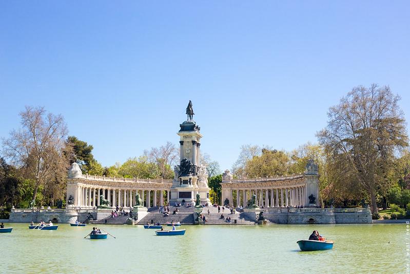 Monumento Alfonso XII, Retiro Park