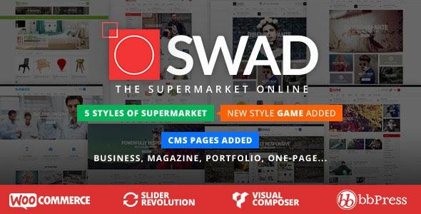 Themeforest Oswad v1.2.1 - Responsive Supermarket Online Theme