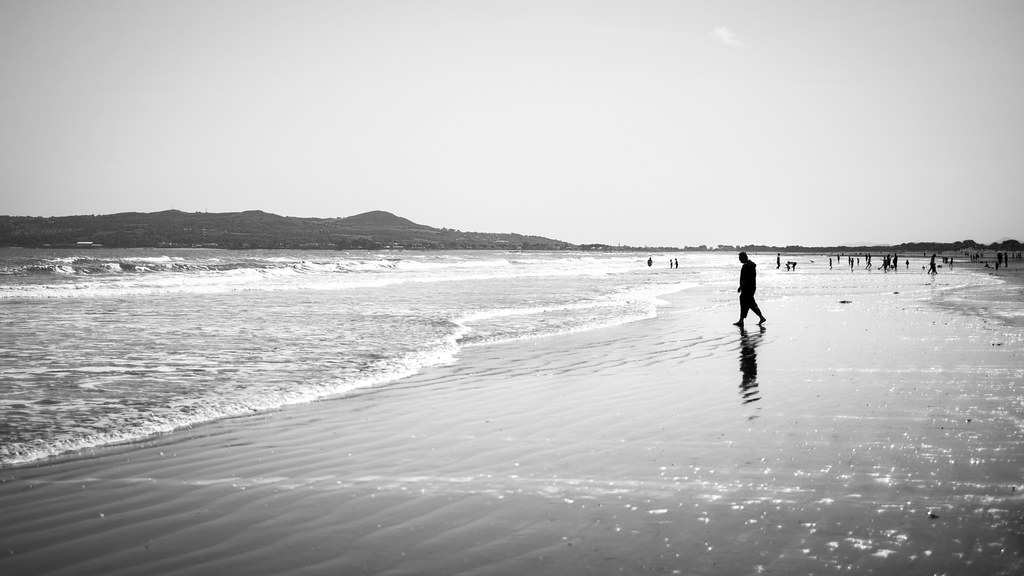 At the beach, Portmarnock, Ireland picture