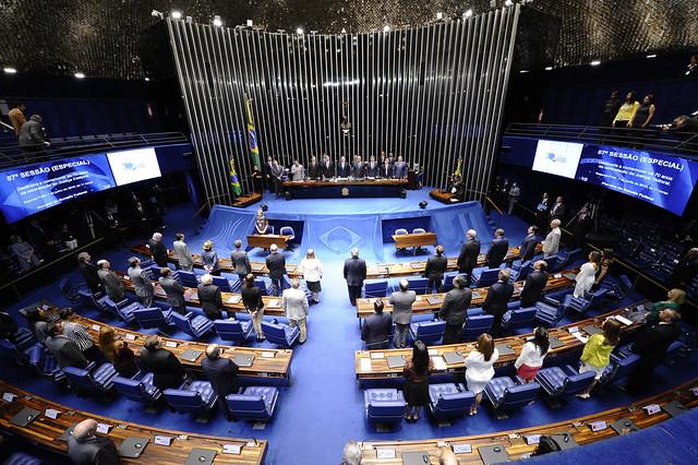 O valor representa quase a metade do orçamento anual do Ministério da Saúde, que gira em torno de R$ 100 bilhões - Créditos: Senado Federal