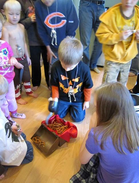 Pirate Birthday Party Games Hook Pretzel - web