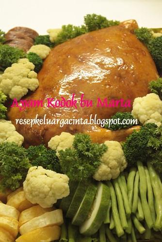 Ayam Kodok bu Marta