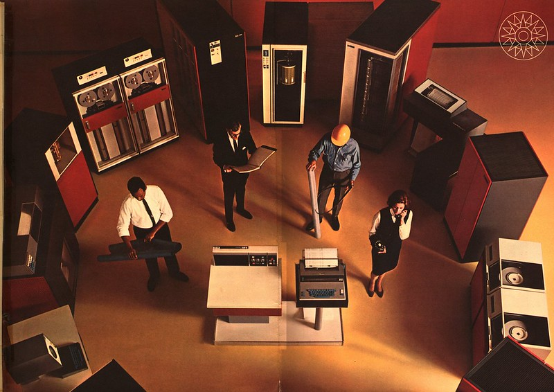 IBM 360 Announcement center