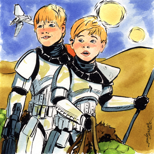 Sandtrooper Kids...