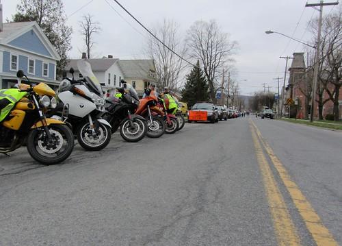 Pre Race Line Up
