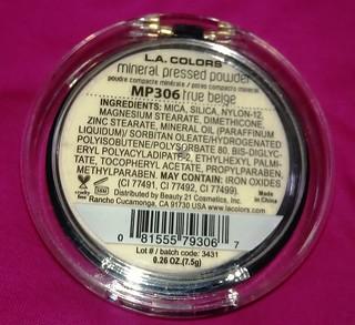 LA Colors Mineral Pressed Powder