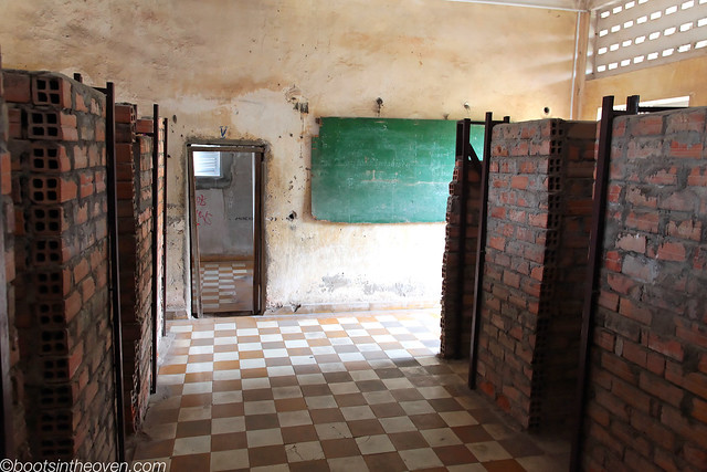 Classrooms converted to cells