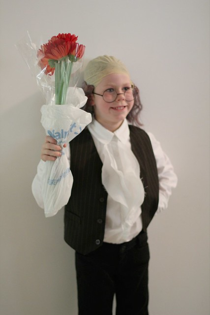 Benjamin as Benjamin Franklin