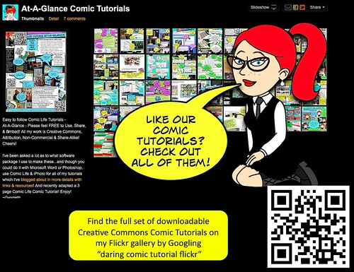 The Daring Librarian: Creating A Comic Life