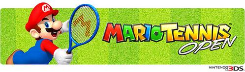Mario Tennis Open - banner
