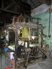 Ancient Mechanical Loom from Van Phuc