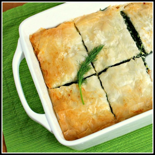 What About Second Breakfast?: Spanakopita (Spinach Pie)