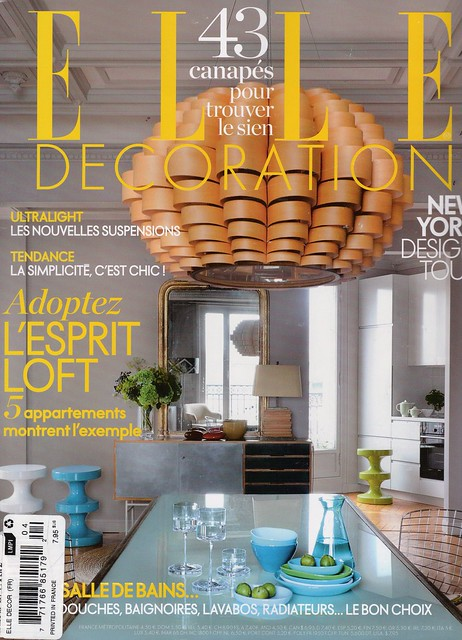 Elle Decoration France_November 2011