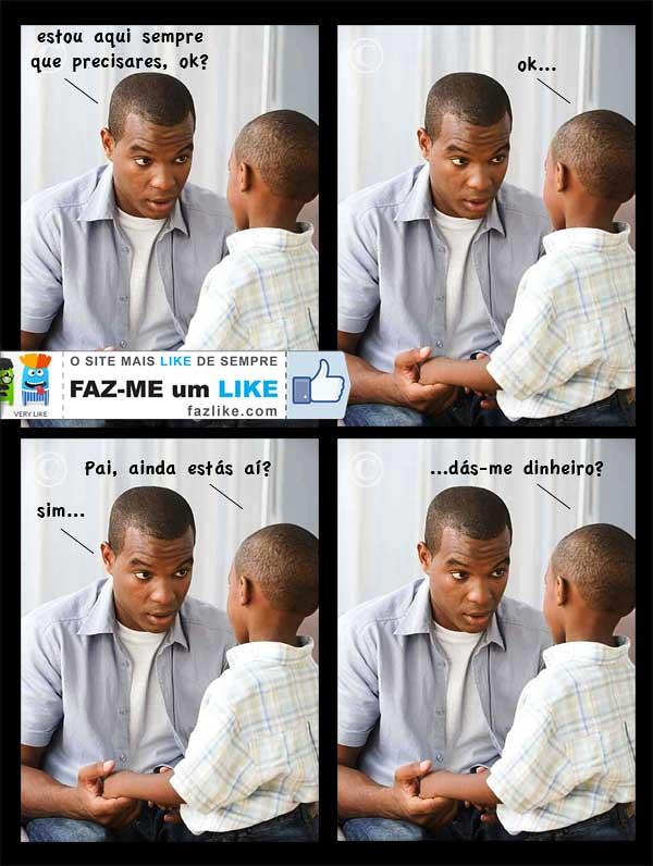 conversa pai e filho - humor