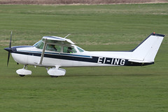 EI-ING - 1981 Reims built Cessna 172P Skyhawk, departing from Barton after a brief visit