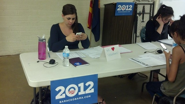 Women for Obama Phone Bank- Celebrating  affordable care act and lives that have already been changed for the better