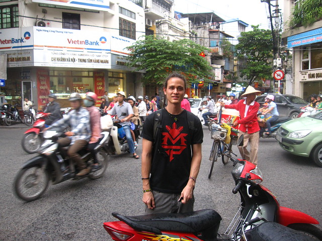 Motobiking in Vietnam