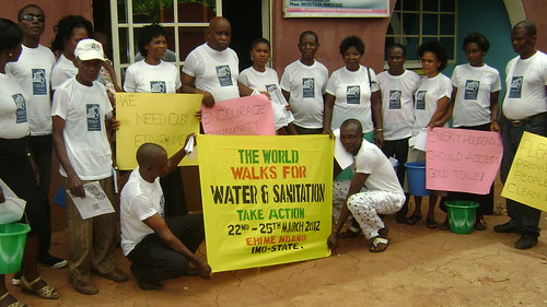 Ehime Mbano, Imo State, Nigeria, Christian Fellowship and Care Foundation by The World Walks For Water and Sanitation