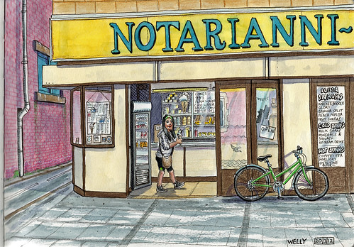 notarianni ice cream parlour, blackpool