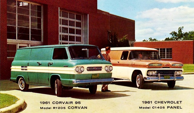 1961 Corvair Pick Up http://www.flickr.com/photos/autohistorian/7003039183/