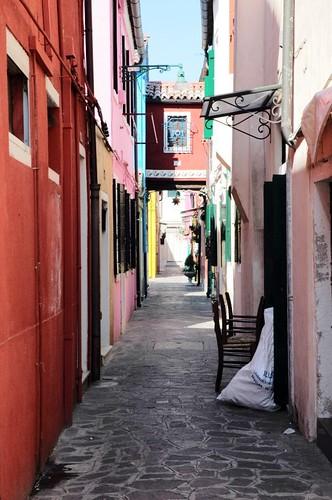 Alley, Burano