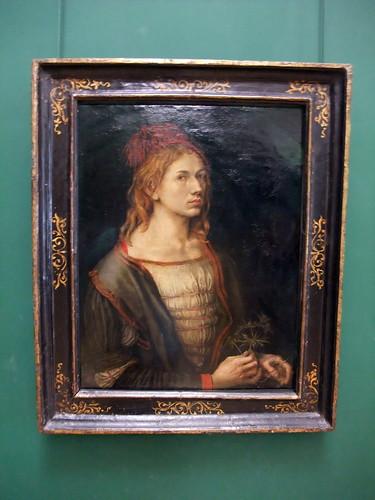 Self-Portrait of Albrecht Dürer, Musée du Louvre, Paris