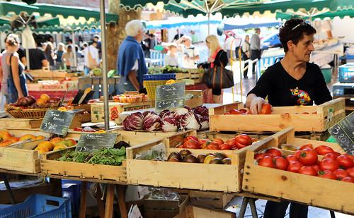 Trhy v Aix en Provence