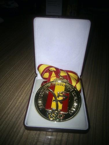 Medalla de oro al mérito deportivo