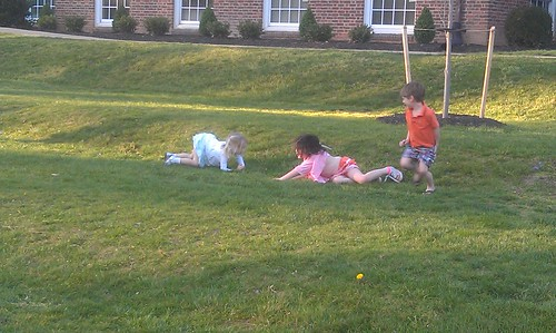 March 19, 2012: Rolling down the hill with Friends