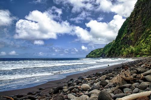 ocean hawaii nikon nikkor waipiovalley blacksandbeach thebigislandofhawaii 1685mm nikond7000 mygearandme hawaiianvirtualtours