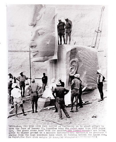 "Daniel Small  ""Abu Simbel Disassembling"""