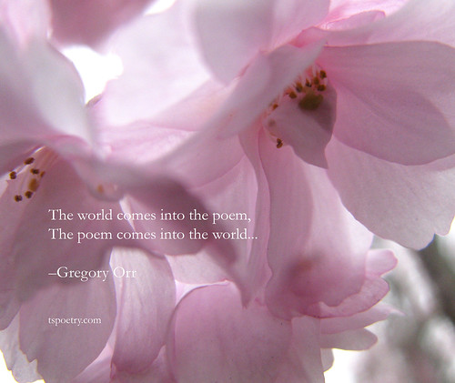 The World Comes into the poem Mousepad