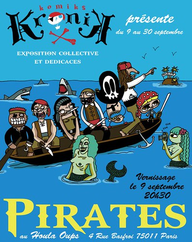 Flyer Pirates - expo Kronik