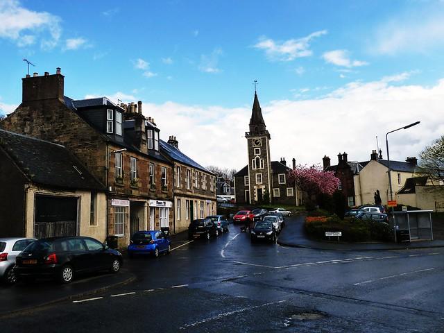 Kilbarchan Street Scene, Scotland