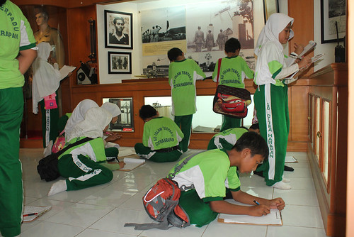 Museum Lanud Halim dikunjungi Anak-anak Sekolah