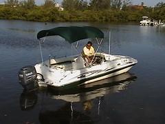 Waves Deck boat