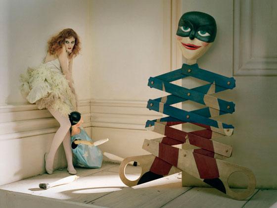 Shona Heath and Tim Walker for Vogue UK. Photo via CLM