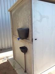 Pre-fab toilet