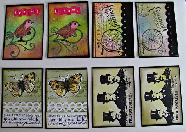 ATC's for Flickr swap