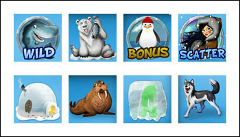 free Icy Wonders slot game symbols