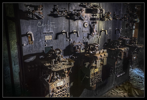 Electrical Room at Abandoned Coal Breaker by AndrewJohn2011