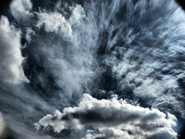 Exploding sky