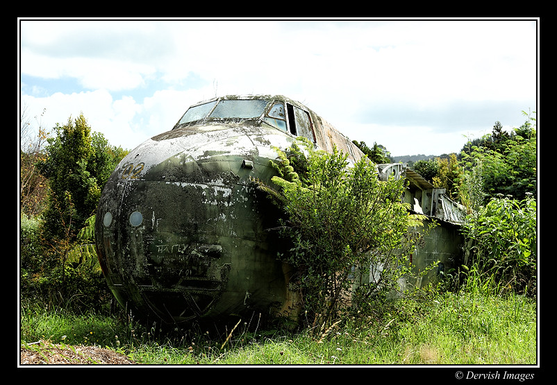 Bristol Freighter Awhitu Peninsula New Zealand