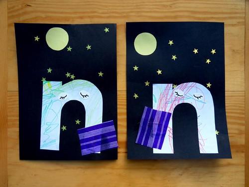letter n craft letter n craft