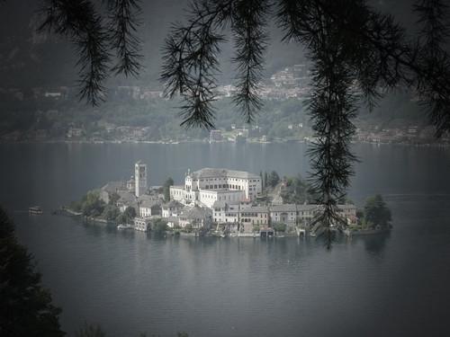 Lago d'Orta, Piemonte, Alpi, natura
