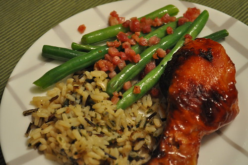 Saucy-Drumsticks-and-Green-Beans-With-Pancetta