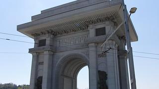 Image of Arch of Triumph near Pyongyang. northkorea pyongyang 平壤 平壌 平壤直轄市 كوريا севернаякорея пхеньян الشمالية بيونغيانغ 조선 pjöngjang 平壤市 평양 평양직할시
