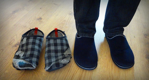Day in the life: Mark's New Grandad Slippers