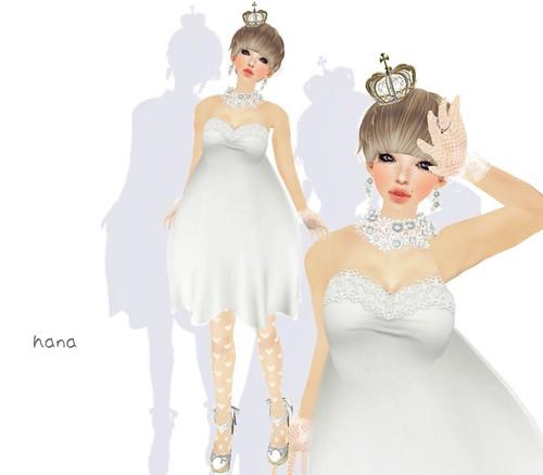 White bride。